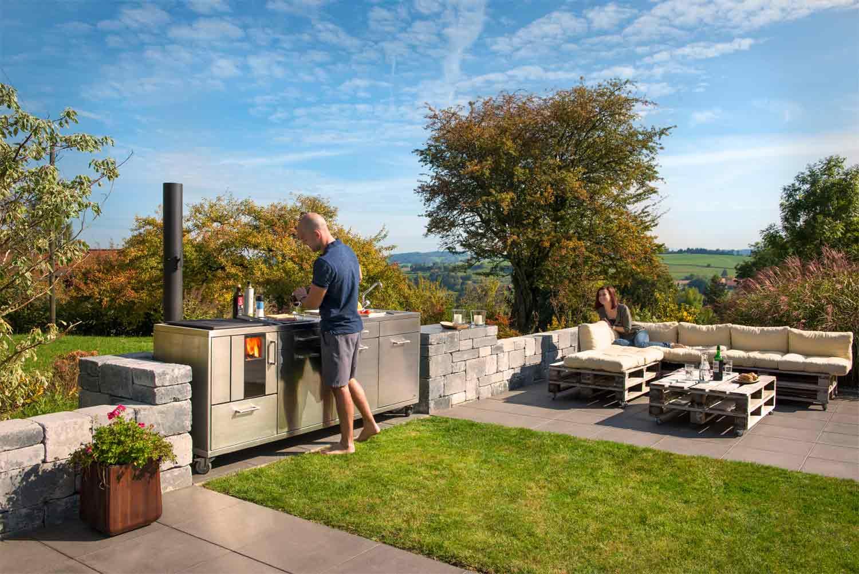Outdoor Küche Holzherd : Küchenherd küchenofen o holzherd kaufen wichtige infos